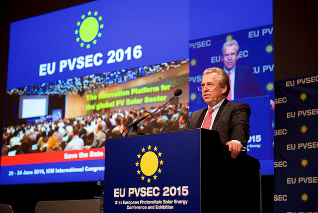 Announcing EU-PVSEC 2016 at previous conference