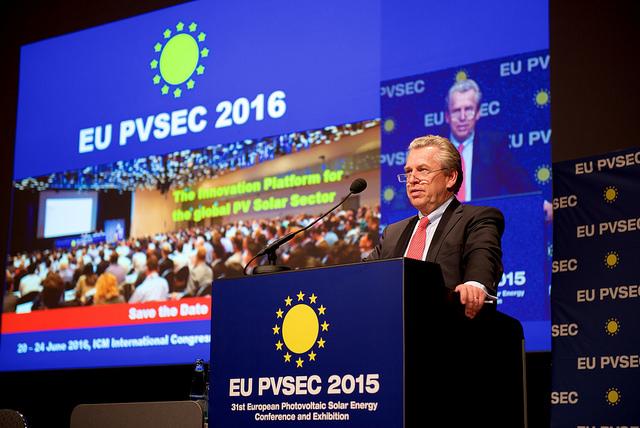 Announcing EU-PVSEC 2016 at previous conference