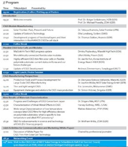 Program IW-CIGSTech 9