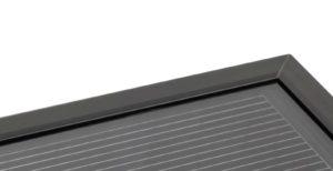 Framed CIGS thin-film solar module