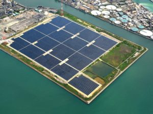 Solar Frontier supplied 23MW of its CIGS modules to this project in Ube, Japan.