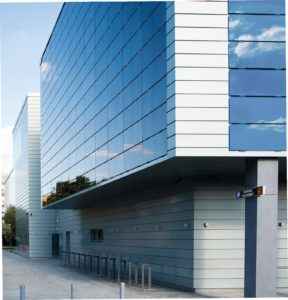 Frameless CIGS is ideally suited for architectural applications